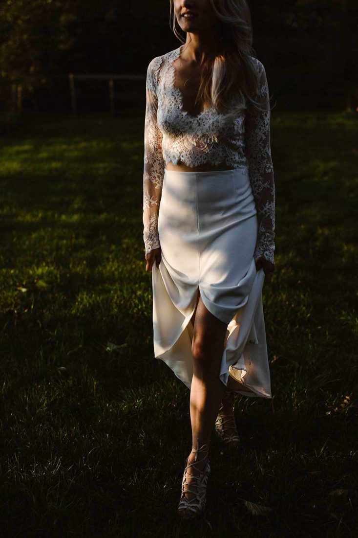 Trouwjurk van Carla Couture